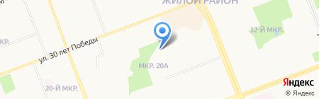 Конвекс на карте Сургута