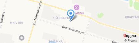 Банкомат Западно-Сибирский банк Сбербанка России на карте Сургута