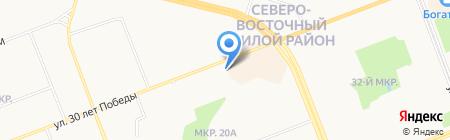 СеверЭнергоСетьПроект на карте Сургута