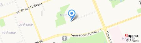 Арт-Pizza на карте Сургута