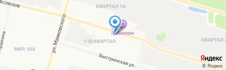 Субару Центр Сургут на карте Сургута