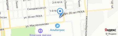 Мастер 2000 на карте Омска