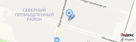 Югра Сервис Технолоджи на карте Сургута
