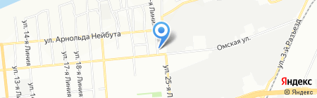 ЛОСИНООСТРОВСКИЙ ЭЛЕКТРОДНЫЙ ЗАВОД на карте Омска