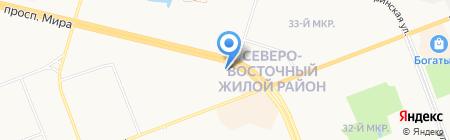 McQueen на карте Сургута