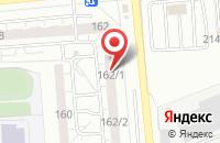 Схема проезда до компании Твой Цвет в Омске