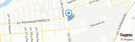 Технопак на карте Омска