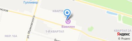 Старина Саргон на карте Сургута