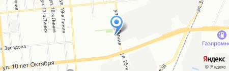 ГрандстройТорг на карте Омска