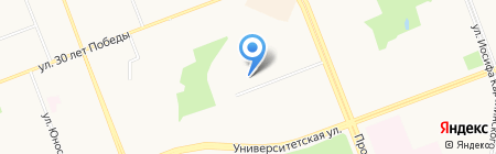 ИМАН на карте Сургута