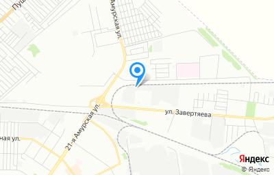 Местоположение на карте пункта техосмотра по адресу г Омск, тер ГСК Центральный-35 (ЦАО), д 316