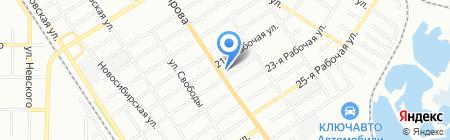 Пит Stop на карте Омска