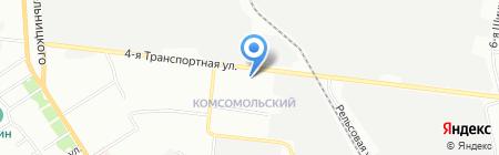 Средняя общеобразовательная школа №39 с углубленным изучением отдельных предметов на карте Омска