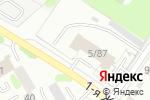 Схема проезда до компании 5 пожарная часть в Омске