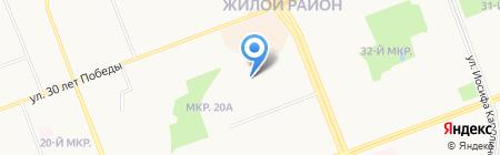 РКЦ-9 на карте Сургута
