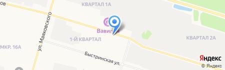 Suzuki на карте Сургута