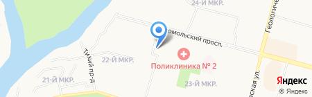 Микро-М на карте Сургута