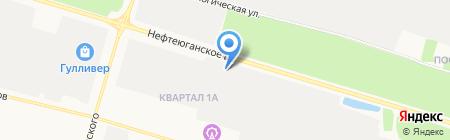 ГЕРЦ ИНЖИНИРИНГ на карте Сургута