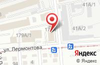 Схема проезда до компании Турист в Омске
