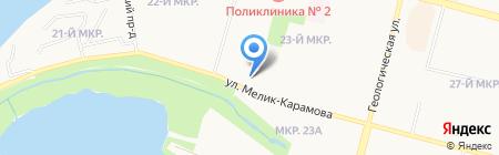 Почта Югры на карте Сургута