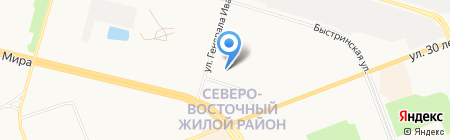 Школа актерского мастерства и вокала на карте Сургута