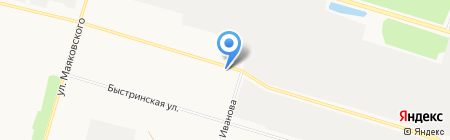 Диамар Стоун на карте Сургута
