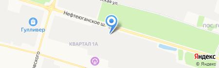 Энергосфера на карте Сургута