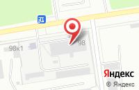 Схема проезда до компании Темп-Сервис в Омске