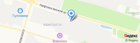 АКПП+ на карте Сургута