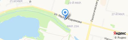 Собор Преображения Господня на карте Сургута