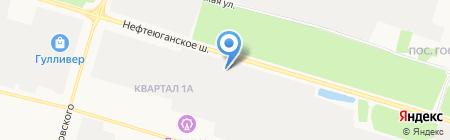 Автомаркет на карте Сургута