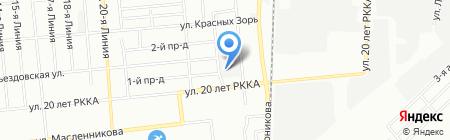 Продторг на карте Омска