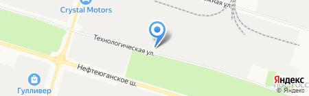 Сургутская Бизнес Школа на карте Сургута