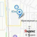Производственно-торговая фирма алюминиевых систем на карте Омска
