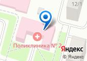 Клиническая городская поликлиника №2 на карте