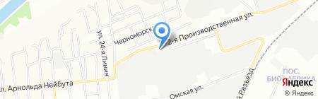 Детский сад №179 на карте Омска