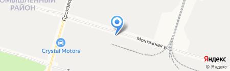 Строй Мин на карте Сургута