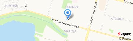 Неболей-ка на карте Сургута