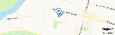 Елена на карте Сургута