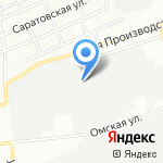Промбытхим на карте Омска