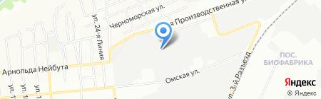 Гринтек на карте Омска