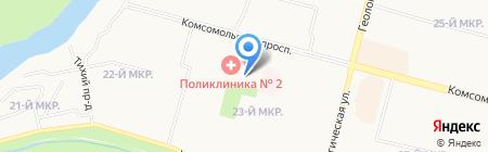 Пожсервис-Сургут на карте Сургута