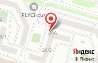 Схема проезда до компании Северная Звезда в Сургуте
