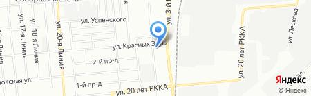 Детский сад №388 на карте Омска