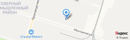 Джозефина на карте Сургута