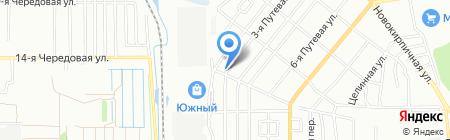Магазин автозапчастей для ПАЗ на карте Омска