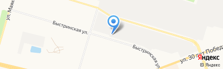 Автокомплекс на карте Сургута