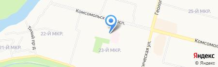 Наш Двор на карте Сургута