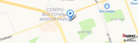 Секрет на карте Сургута