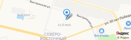 Экономическая Безопасность на карте Сургута